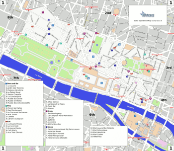Paris1st arrondissement  Wikitravel
