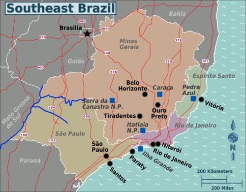 Southeast Brazil Wikitravel