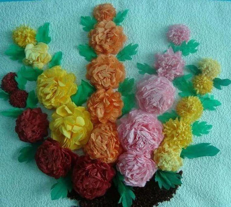 Анимационная открытка, цветы из салфеток своими руками для открыток