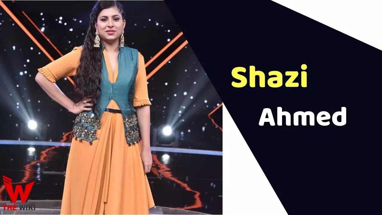 Shazi Ahmed (Singer)