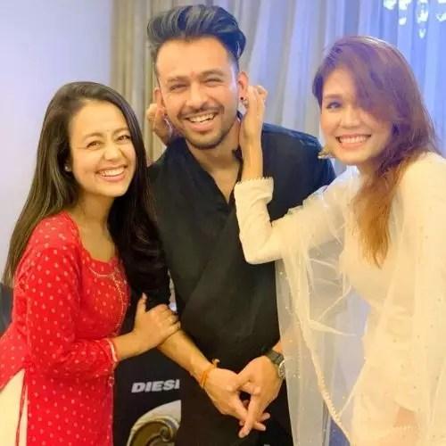Neha Kakkar, Tony Kakkar and Sonu Kakkar