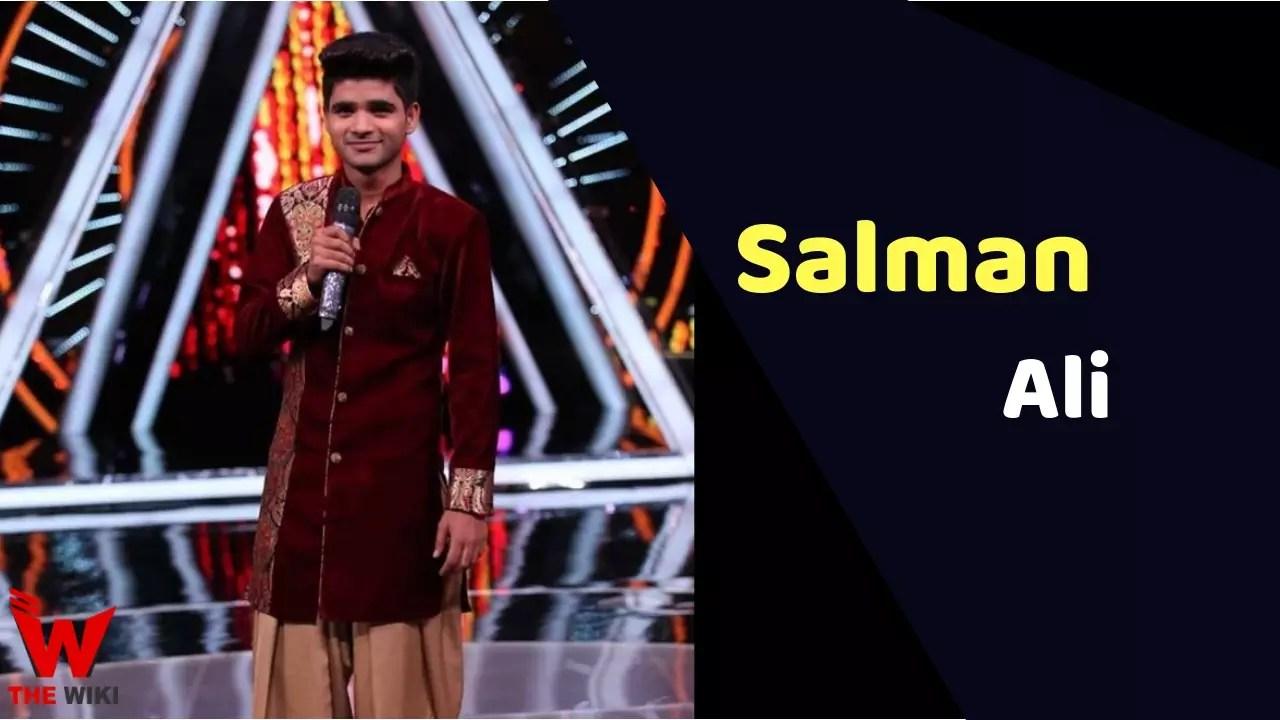 Salman Ali (Singer)
