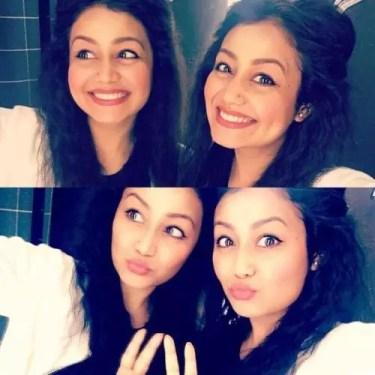 neha love selfies