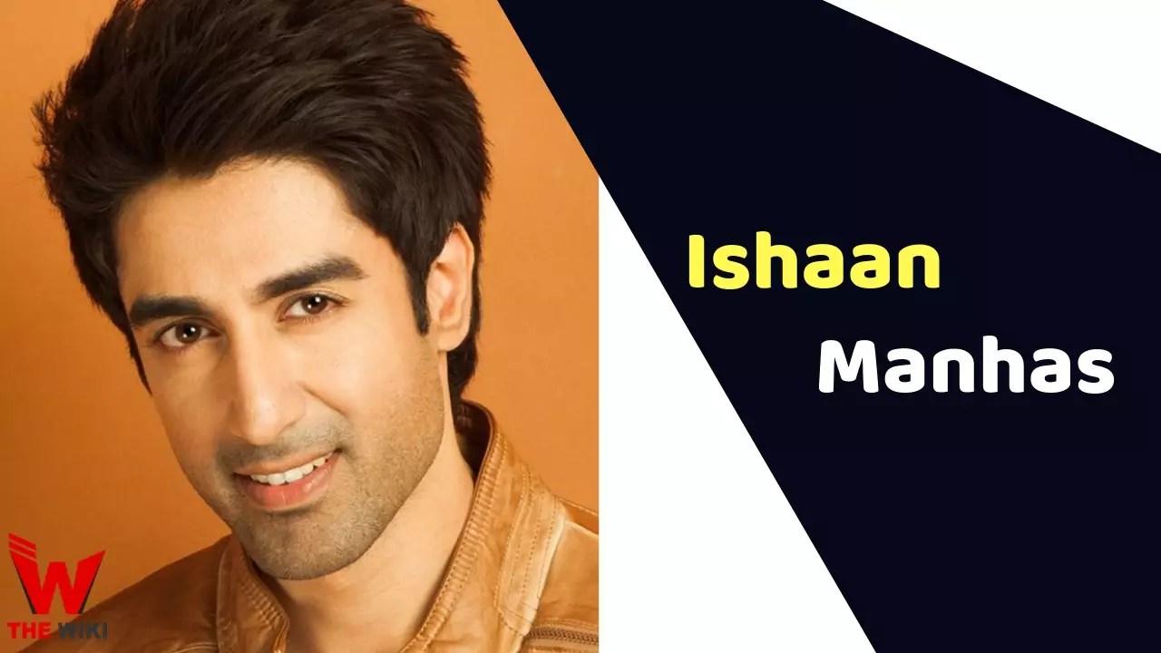 Ishaan Singh Manhas (TV Actor)