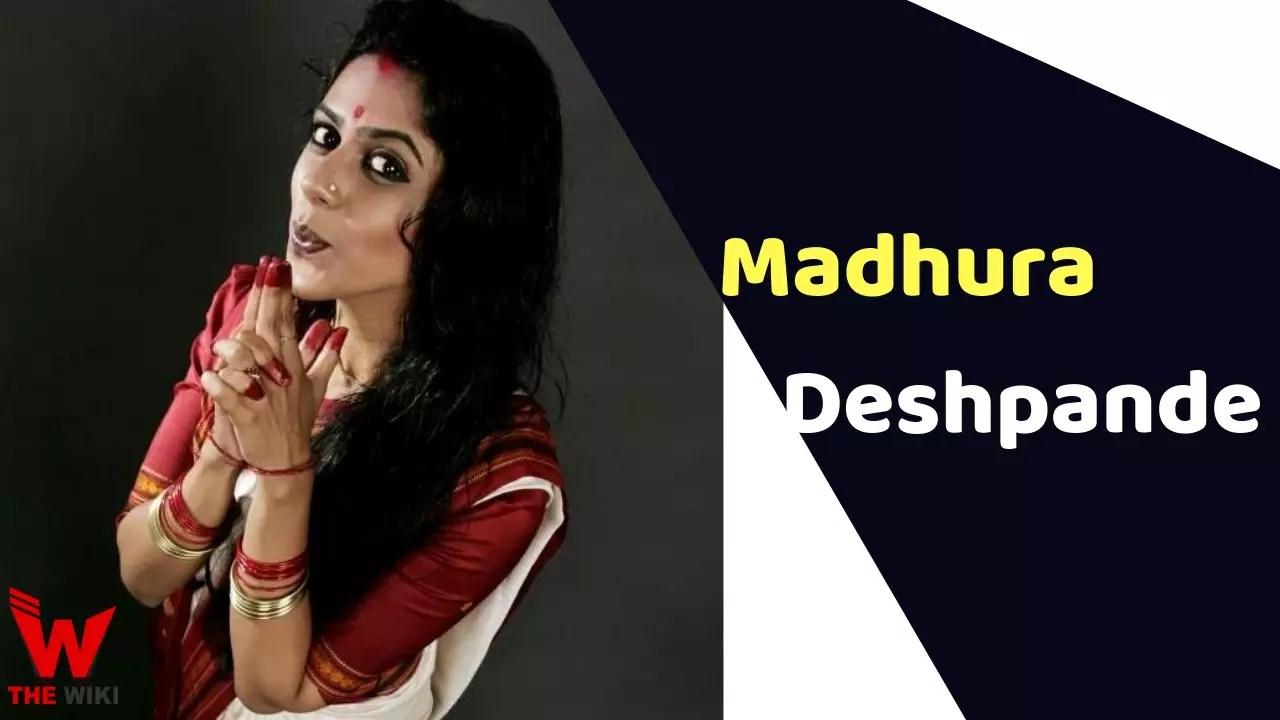 Madhura Deshpande (Actress)