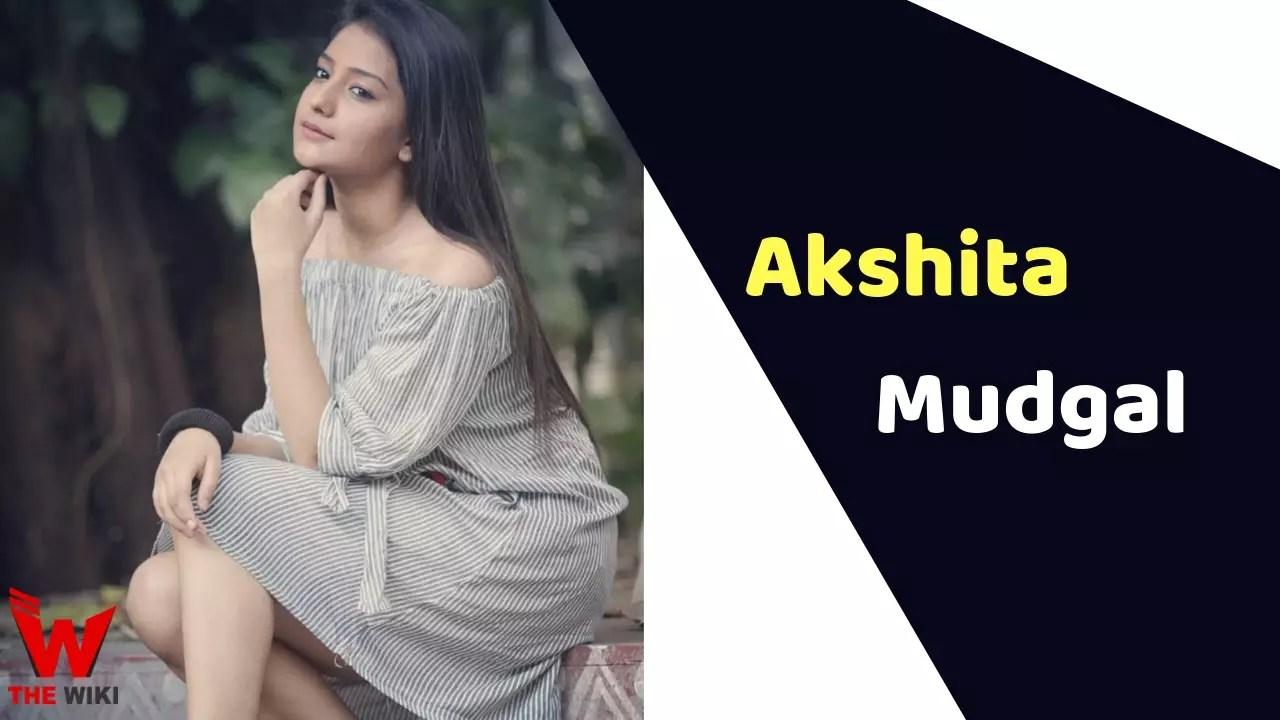 Akshita Mudgal (Actress)