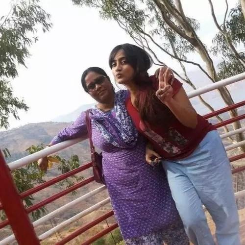 Amika Shail (Actress) Mother