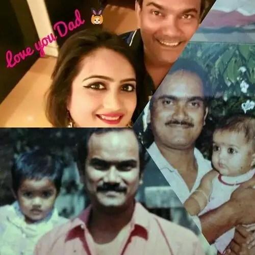 Amika Shail (Actress) Father