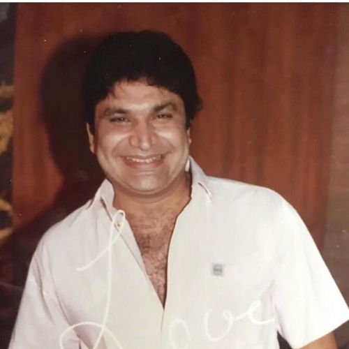 Anjali's Father Dinesh Anand