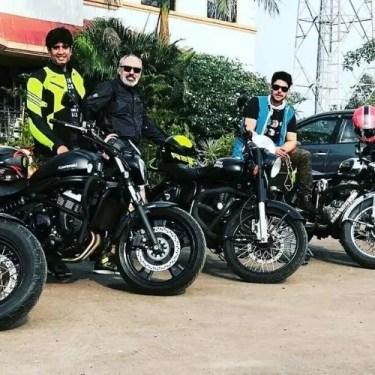 Hasan Zaidi Love Bike