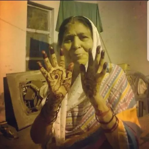 Rajshri's Mother Late Siyavati Shukla