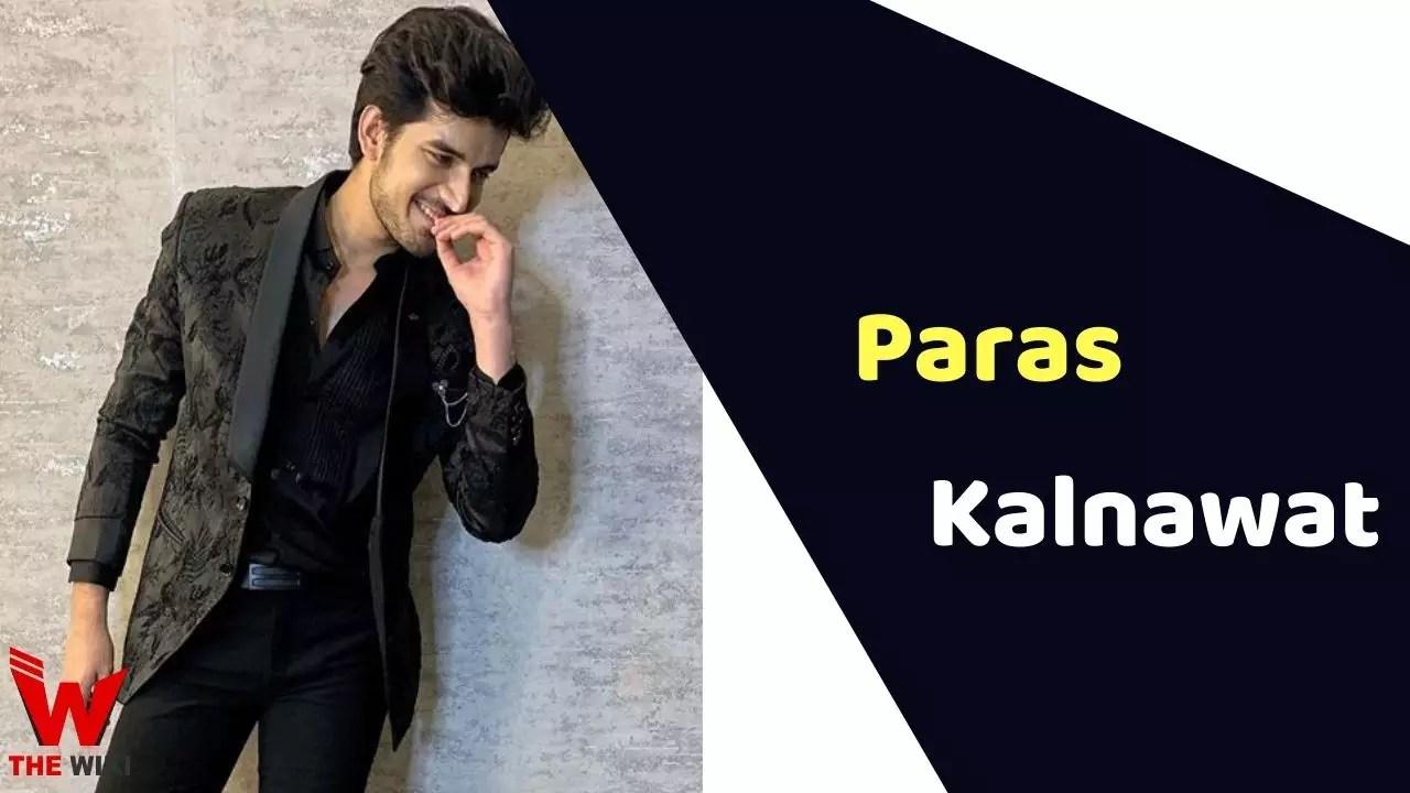 Paras Kalnawat (Actor)