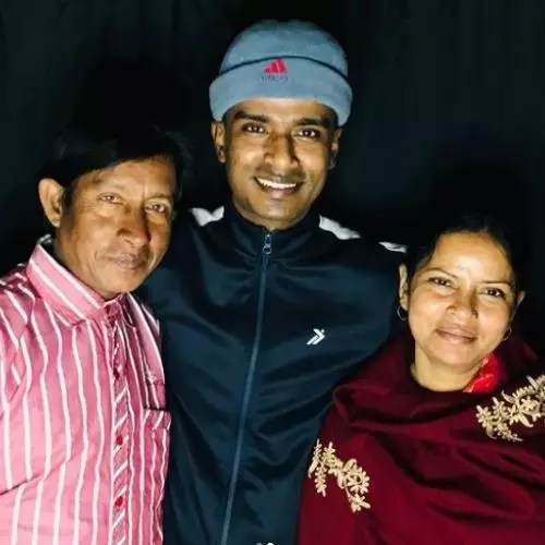 Md. Akib with Parents