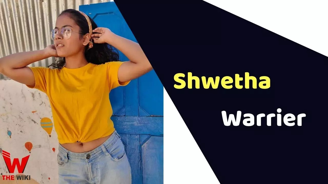 Shwetha Warrier (India's Best Dancer)