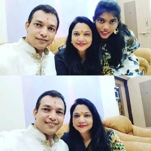 Sonali Naik Family