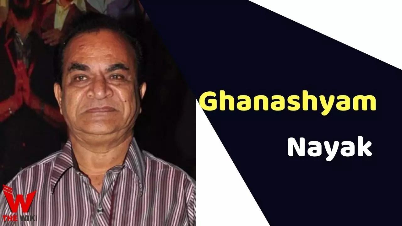 Ghanashyam Nayak (Actor)
