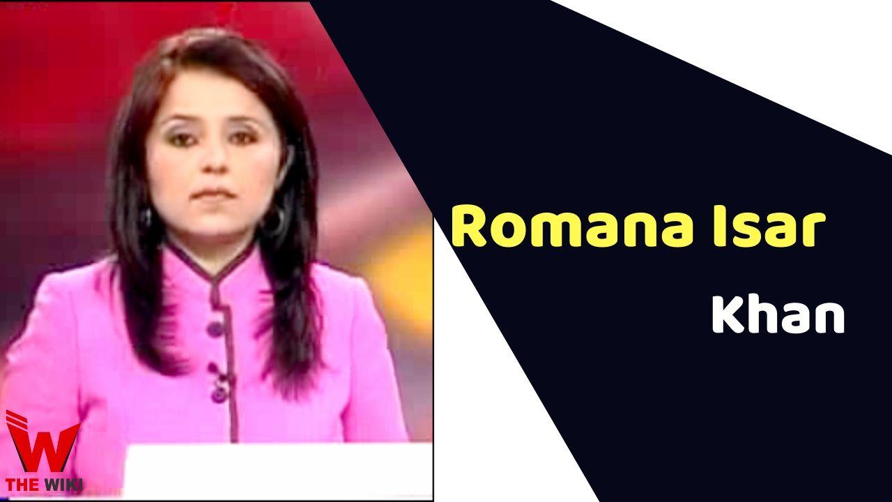 Romana Isar Khan (News Anchor)