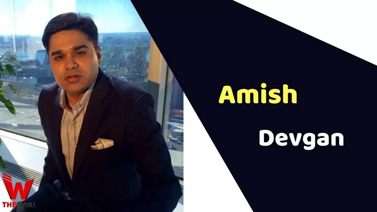 Amish Devgan (News Anchor)