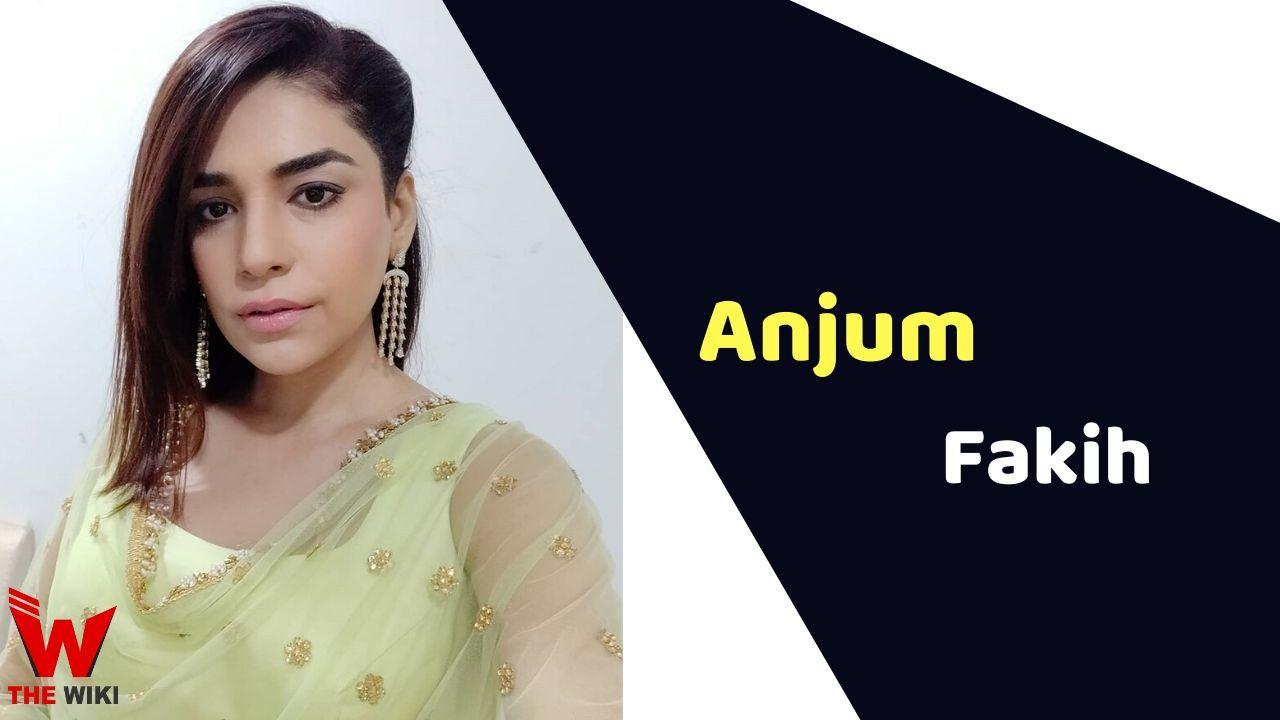 Anjum Fakih (Actress)