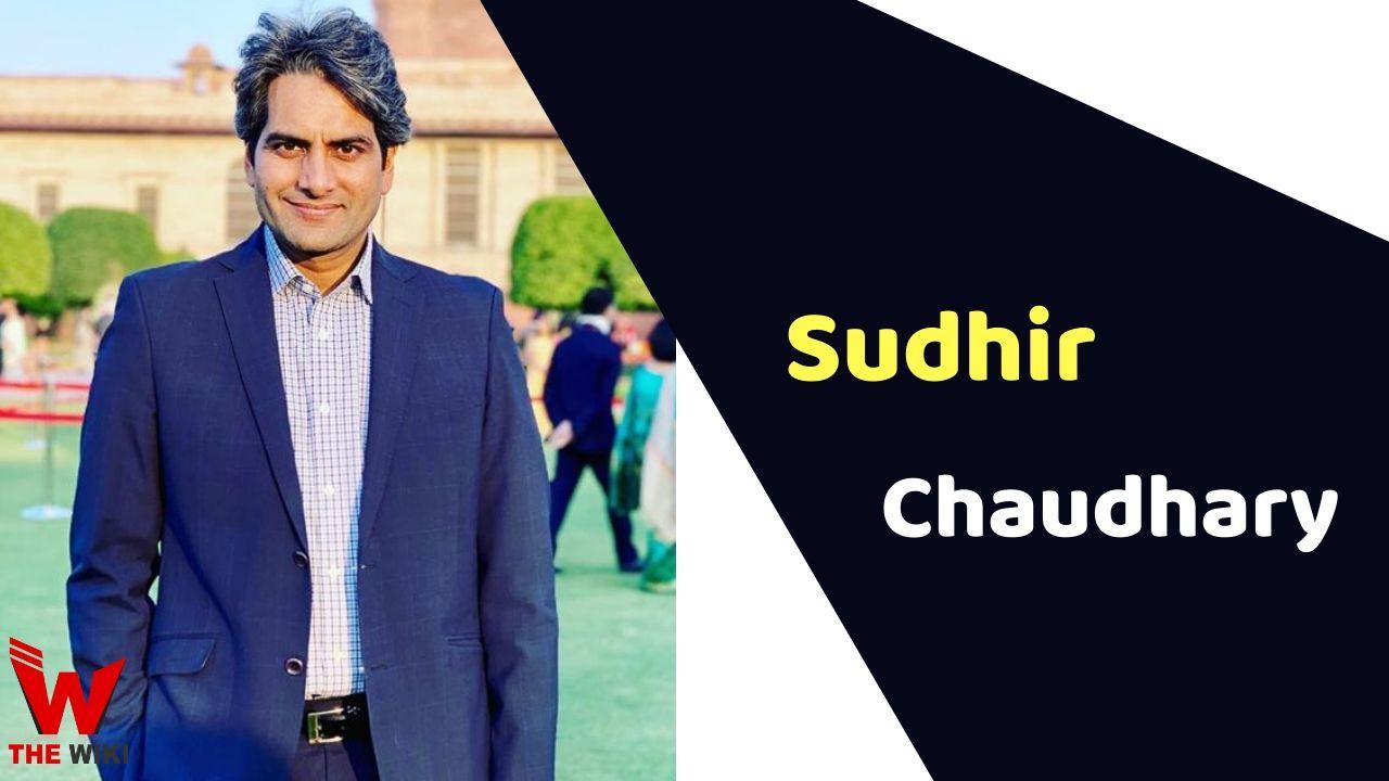 Sudhir Chaudhary (News Anchor)