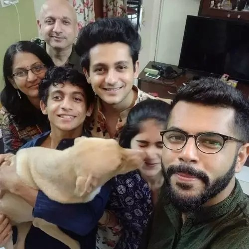 Adish Vaidya Family