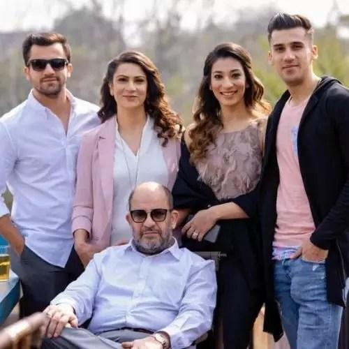 Hamid Barkzi Family