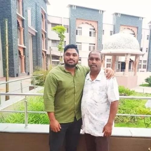 Nikhil Naik Father