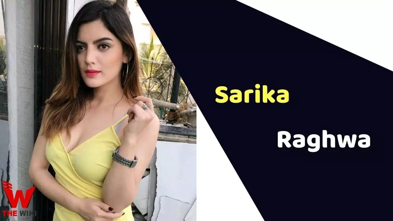 Sarika Raghwa (Actress)