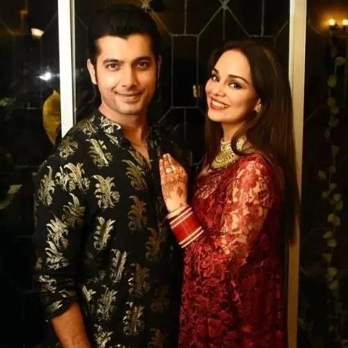 Sharad Malhotra and Ripci Bhatia