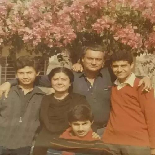 Ashish Kaul family