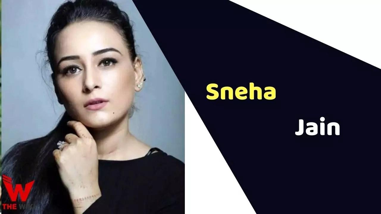 Sneha Jain (Actress)