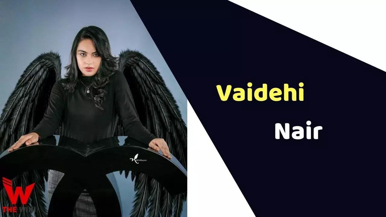 Vaidehi Nair (Child Artist)