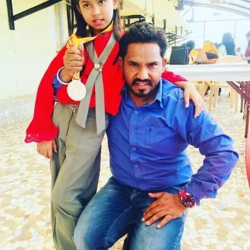 Laisel Rai with Father