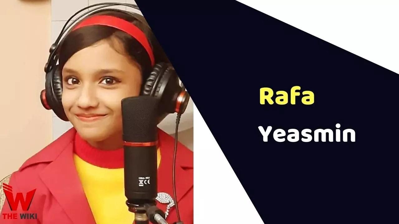 Rafa Yeasmin (Taare Zameen Par)