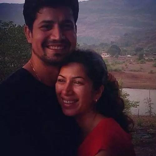 Sumeet Vyas and Shivani Tanksale