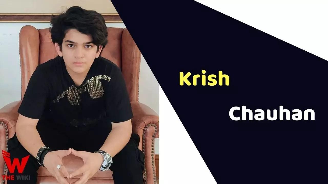 Krish Chauhan (Child Artist)