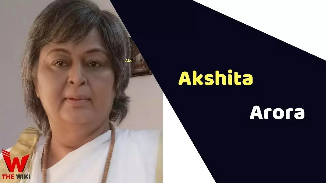 Akshita Arora (Actress)