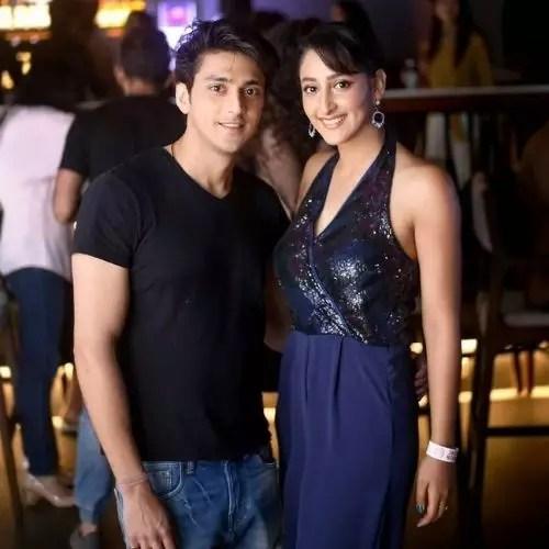 Kinshuk Vaidya with girlfriend (Shivya Pathania)