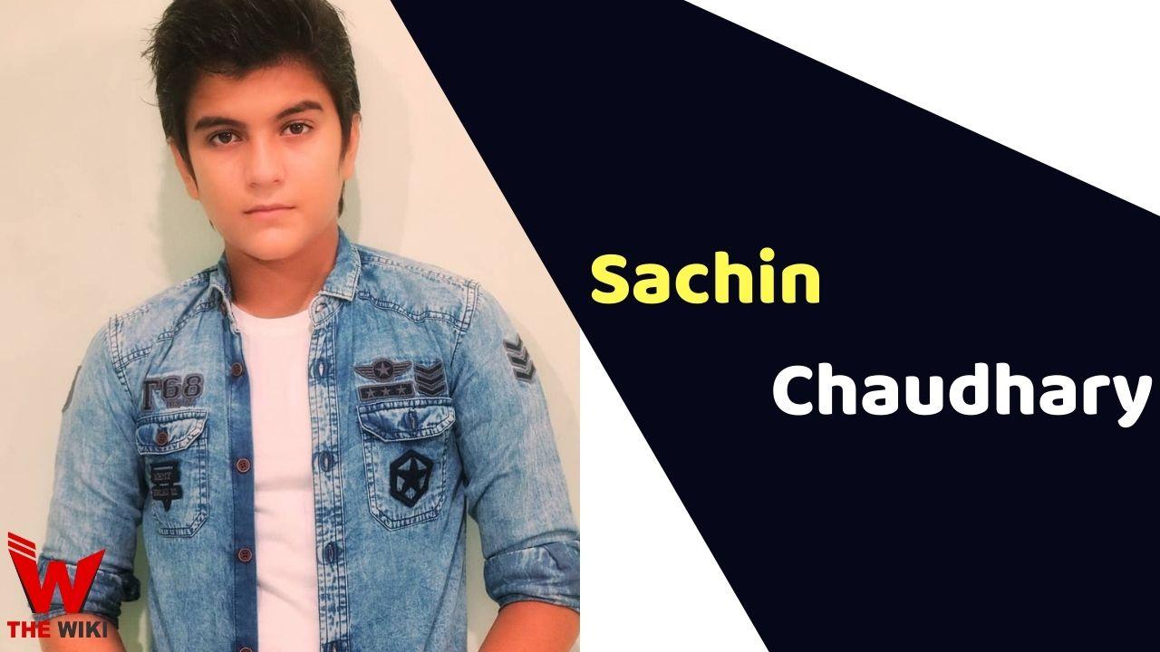 Sachin Chaudhary (Child Artist)