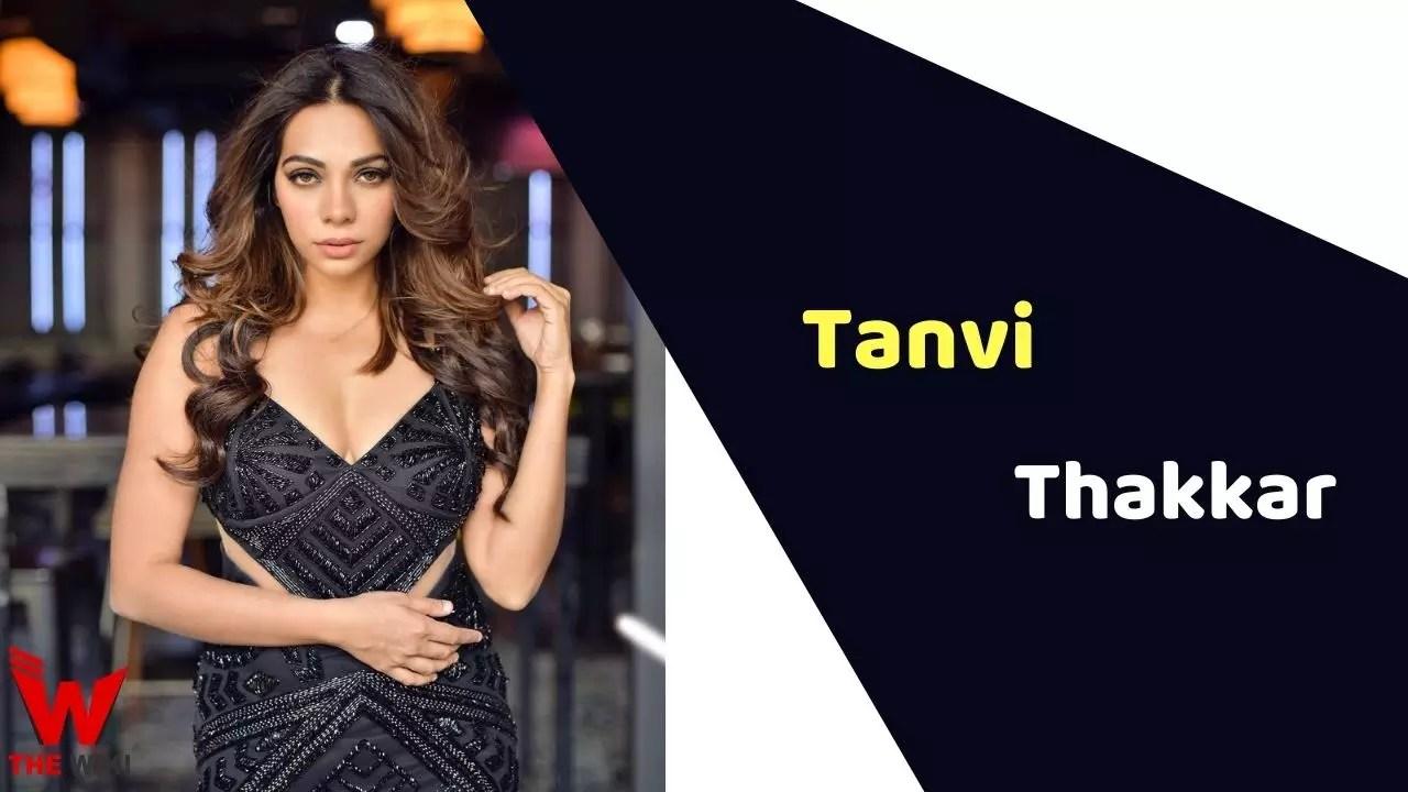 Tanvi Thakkar (Actress)
