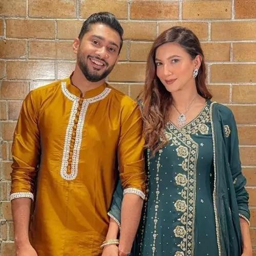 Zaid Darbar and Gauhar Khan