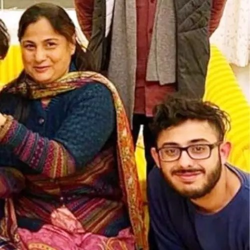 Ajey Nagar's Mother