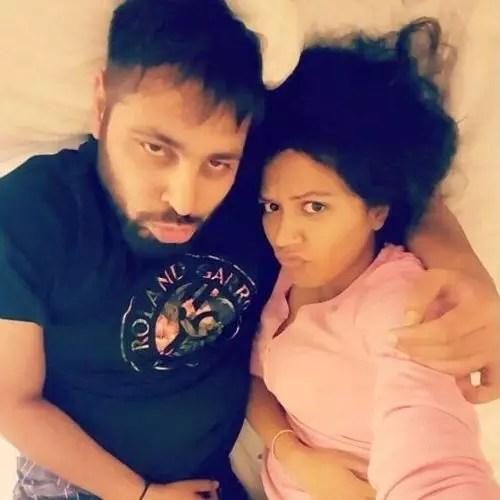 Badshah with Jasmine Masih