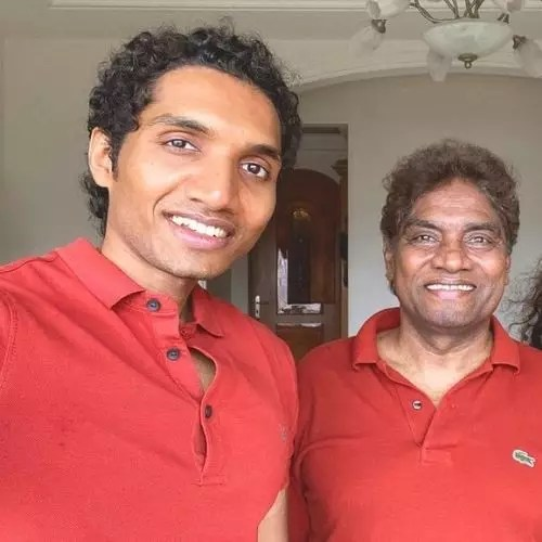 Johnny Lever with Jesse Lever
