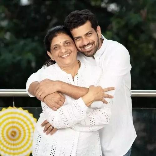 Ashutosh Gokhale with His Mother (Savita Gokhale)