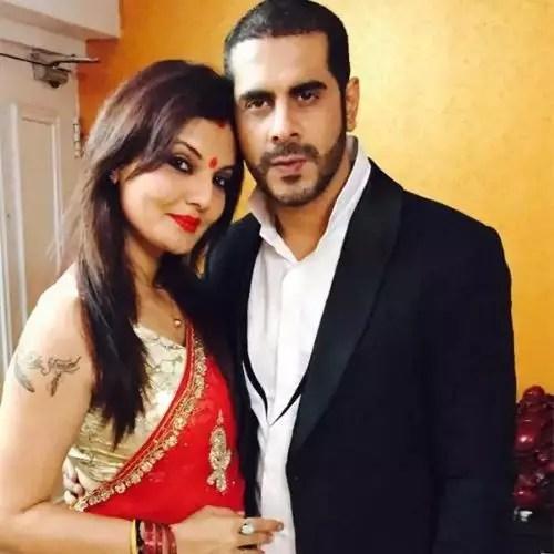 Deepshika Nagpal with Keshav Arora (Ex-Husband)