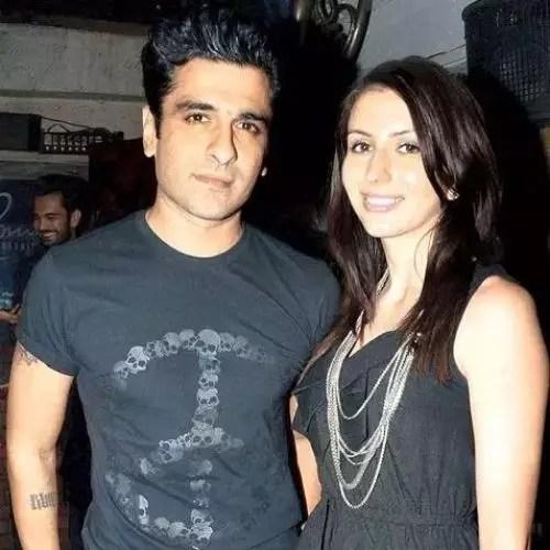 Nidhi Kashyap and Ejaz Khan
