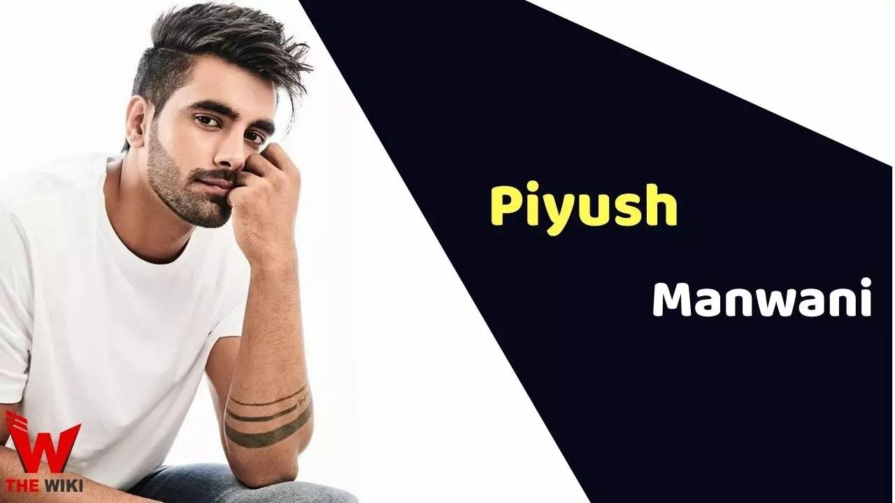 Piyush Manwani (Model)