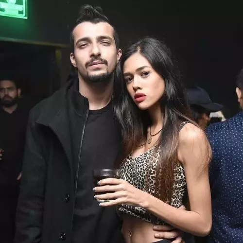 Summer Jacobs with Raghav Puri (Boyfriend)