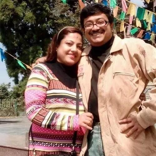Asmee Ghosh Parents
